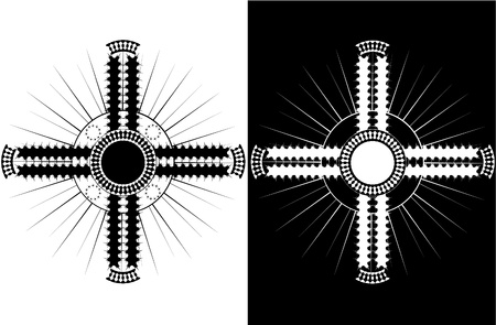 abstract cross: abstract croce