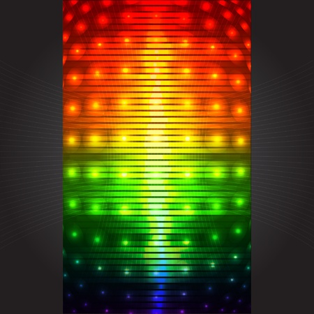 background with led display background and light Stock Vector - 11831086