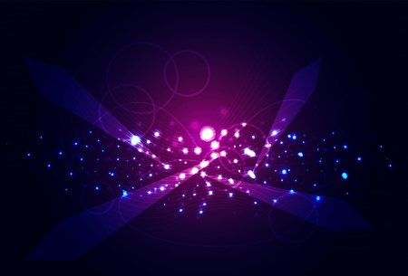 orion: Galaxy. Vector abstract background