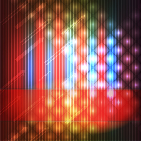 colorful disco background Stock Illustratie