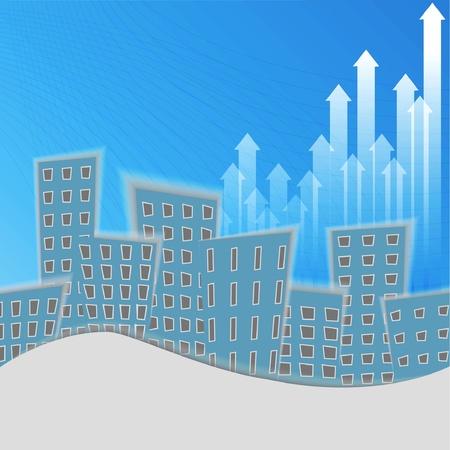 cartoon city background