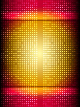 abstract red and gold background  Vector