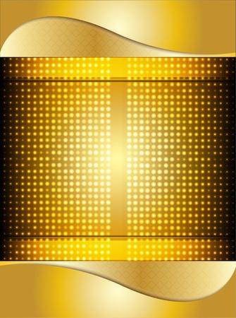 gold vector background vector  Vector