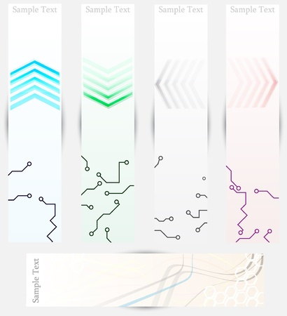 arrows banners Stock Vector - 13971062