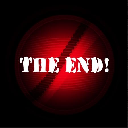Movie ending screen  Illustration