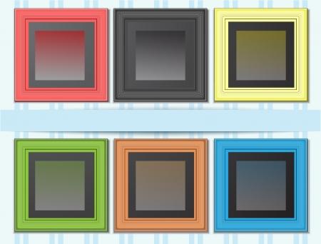 empty frames Vector