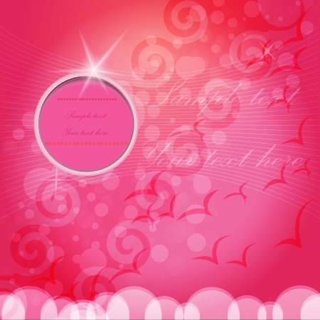 pink bubble  Vector Illustration Stock Vector - 15538975