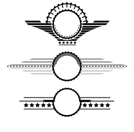 Wings illustration Stock Illustratie