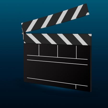 movie clapper: Movie Clapper Consiglio Vettoriali