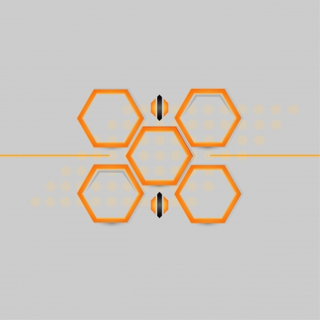abstract Honeycomb background  Vector illustration Stock Vector - 16907581