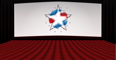Cinema Theatre  Stock Vector - 17104013