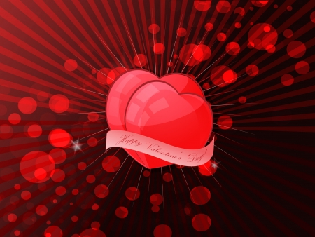 Valentines holiday background Stock Vector - 17104830