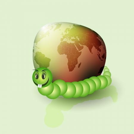 Eco planet Stock Vector - 17104121