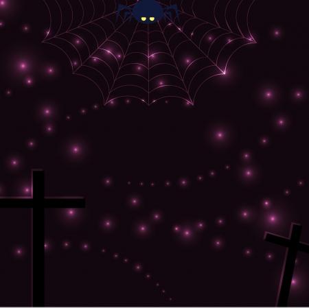 spider net: Vector with spider net