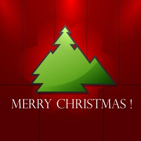 Christmas tree  Stock Illustratie