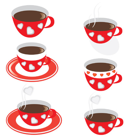 Cup of coffee Stock Vector - 6433211