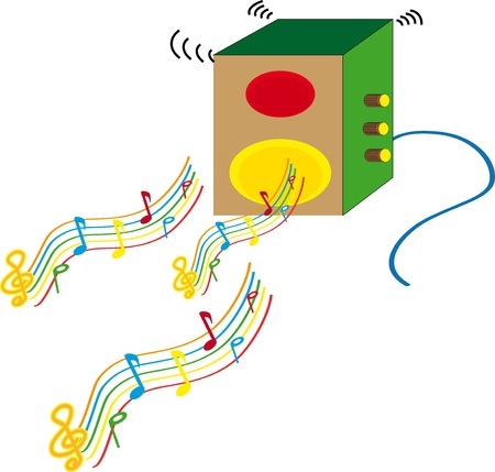 Music melody Illustration