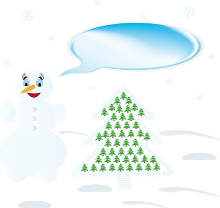 Christmas Cards  and snowman