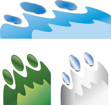 Water Design Elements Illustration