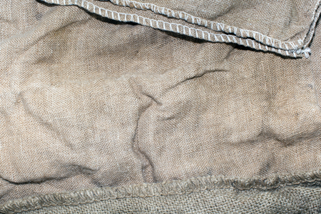 Old sack closeup texture - stock photo. Texture Stock Photo