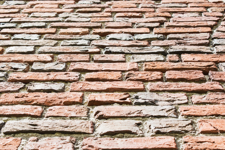 Background of old vintage brick wall, Stock Photo