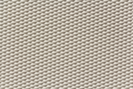 White mesh canvas, woven texture pattern background in white light gray color Stock Photo