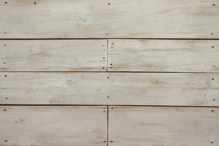 White wooden wall, detailed background photo texture. Pastel wood plank fence close up Reklamní fotografie