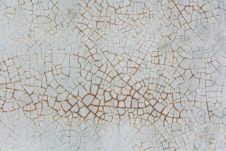 old cracked paint on the wall. texture vintage