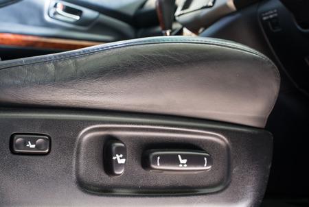 adjustment: Close up look at adjustment buttons