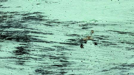 porous concrete wall painted with mint paint, backgrounds, textures Foto de archivo