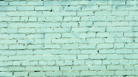 horizontal brick wall painted white, backgrounds, textures