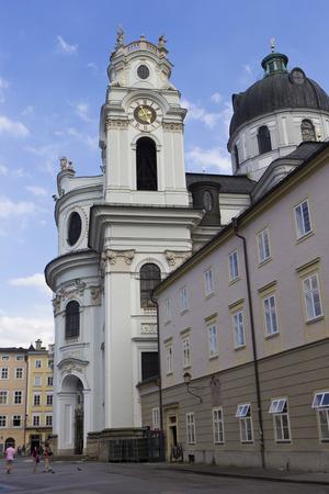 detai: Kollegienkirche (Salzburg)-University of Salzburg church