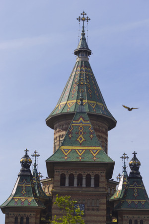 the detail: Timisoara Orthodox Cathedral, detail