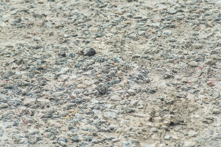 Gray road texture. Background with rubble. Standard-Bild - 121482661