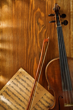 musical score: copyspace musical background Stock Photo