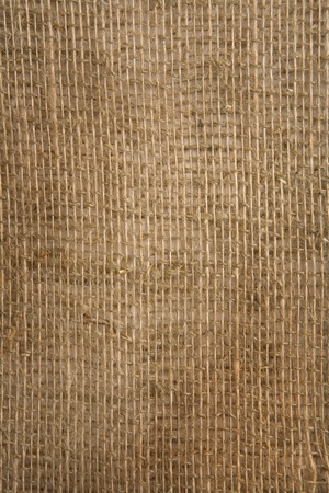 sisal: burlap closely Stock Photo