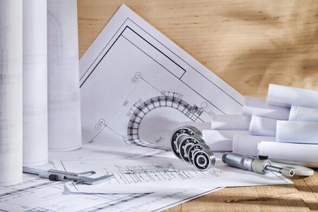 engineering drawings photo