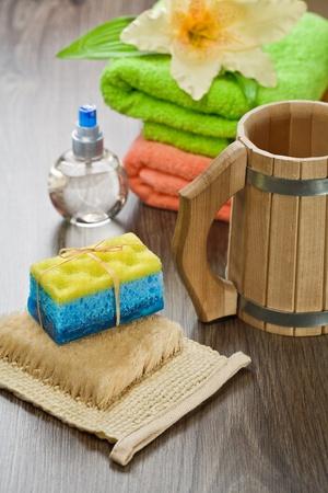 bathe mug: composition of articles for bathing