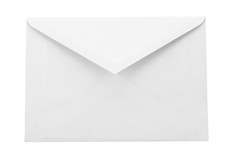 typer: Post envelope Stock Photo