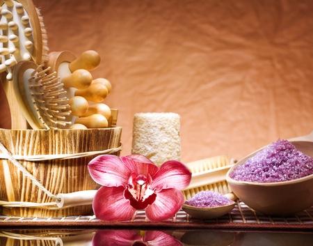 purify: set of bath accessories