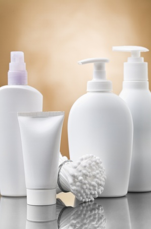 cosmetical bottles photo