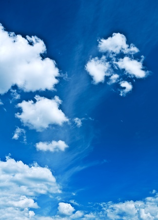 sparce: sparce clouds on blue heaven