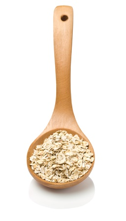 wooden spoon with cereal Stock Photo - 11486497