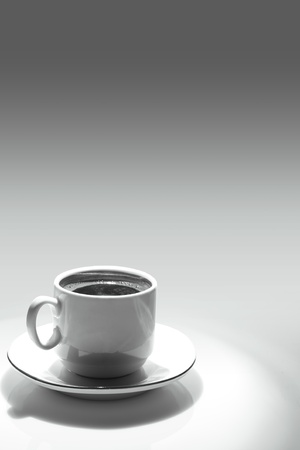 concept of coffee cup photo