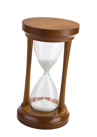sand timer: hourglass isolated