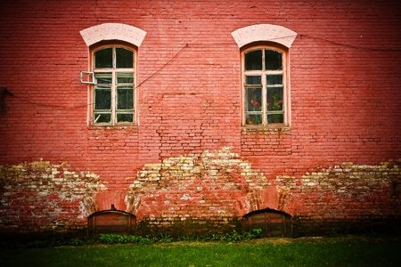 old grunge wall Stock Photo - 11526048