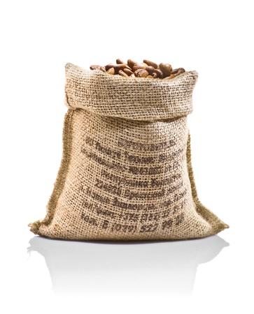 sackful: sack with beans