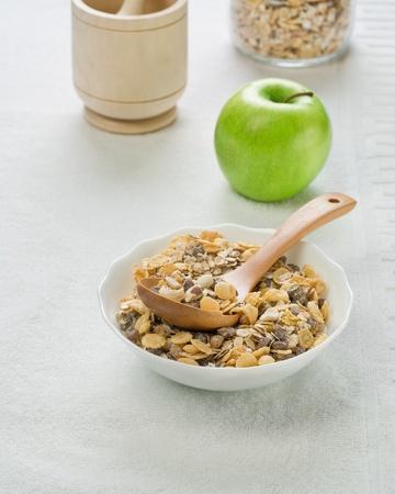 Set of dietary food photo