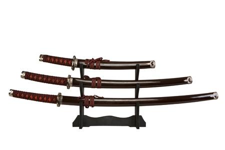 scheide: Schwerter auf einem St�nder