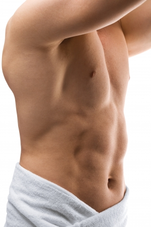 Nacked Male Torso Stock Photo